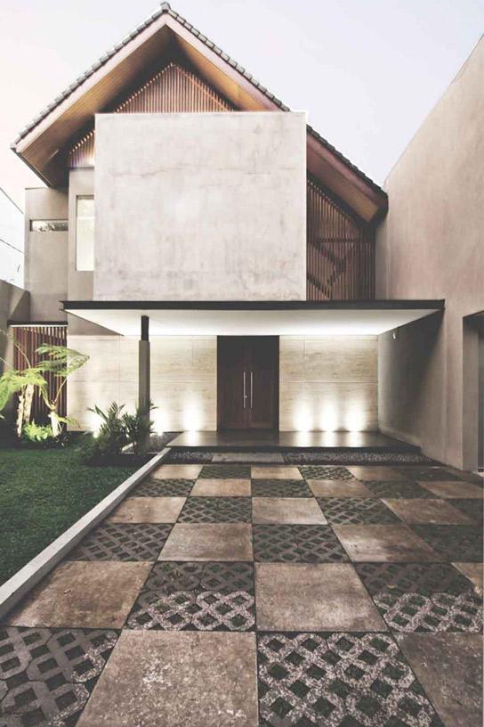 Fasad Rumah Kekinian